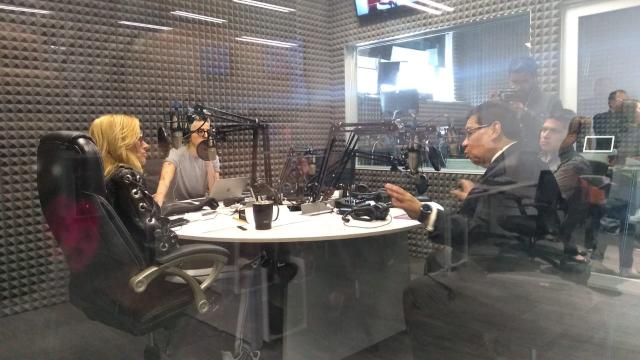 Arturo Farelas, en entrevista con Adela Micha.