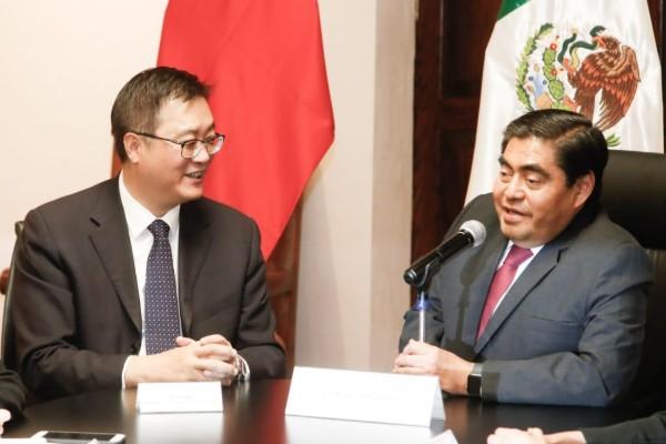 """""""A Puebla lo vamos a convertir en el principal asiento de los negocios del país"""
