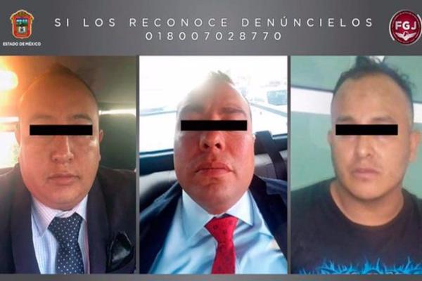 Tres de los 50 policías en investigación fueron exhibidos en redes sociales.  Foto: Especial