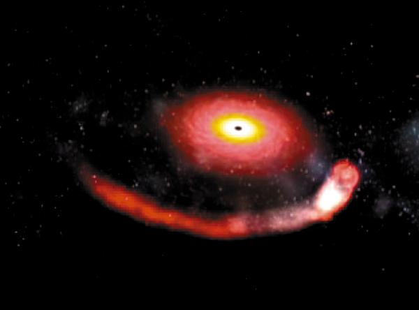 INVESTIGADORES: Estamos seguros de que detectamos un agujero negro. Foto: NASA