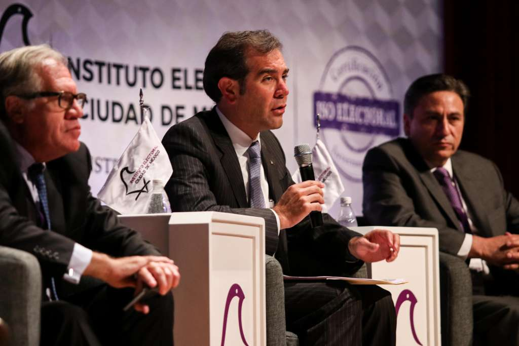 PRERROGATIVA. Lorenzo Córdova asegura que no hay plazo para devoluciones. Foto: Cuartoscuro