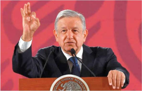 TAJANTE. López Obrador refirió que las advertencias son parte de la responsabilidad que tiene. Foto: Pablo Salazar Solís