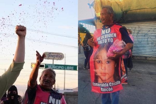 El pasado 12 de agosto un grupo de mujeres arrojó diamantina a Jesús Orta, desde entonces se viralizó arrojar diamantina en forma de protesta. Foto: Especial.