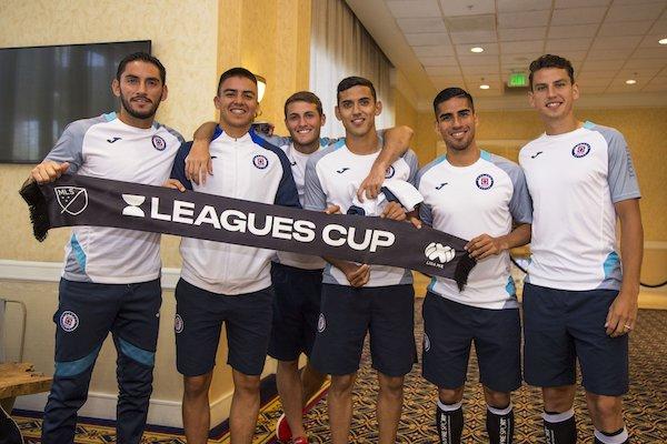 Cruz Azul alineacion semifinal Leagues Cup vs Galaxy