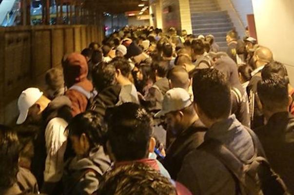 Retrasos en la Linea A del Metro CDMX