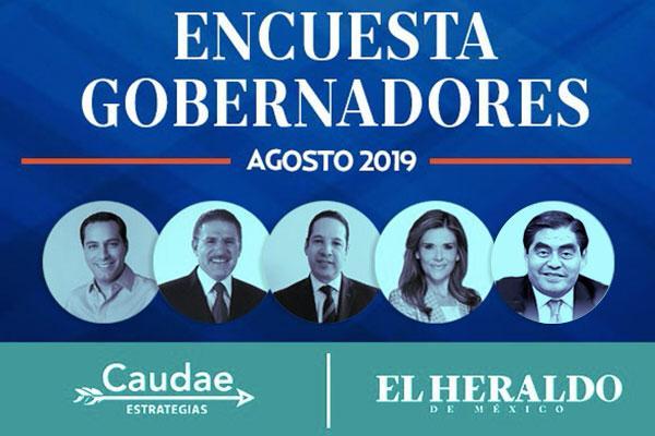 Ellos son los gobernadores mejor evaluados en integridad, capacidad y honestidad. Foto: Heraldo de México