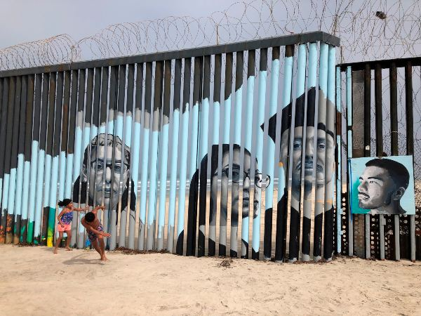 Muro de EU y México