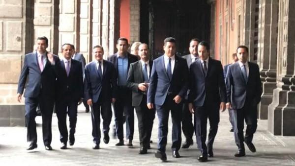 LABOR DESTACADA . Seis de los gobernadores panistas se mantuvieron en el top ten a nivel nacional. Foto: Especial