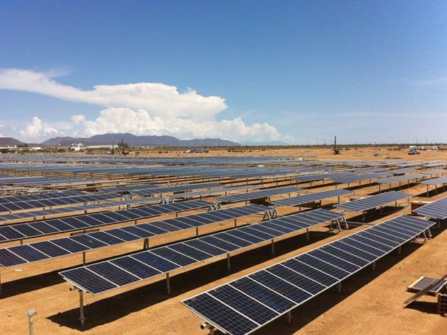 242 Millones de dólares, la inversión de la planta solar Don José. Foto: Especial