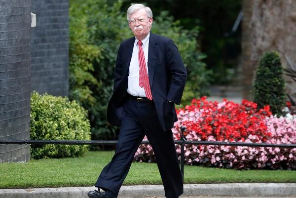 CONSEJERO. John Bolton estuvo recientemente en Gran Bretaña. Foto: AP