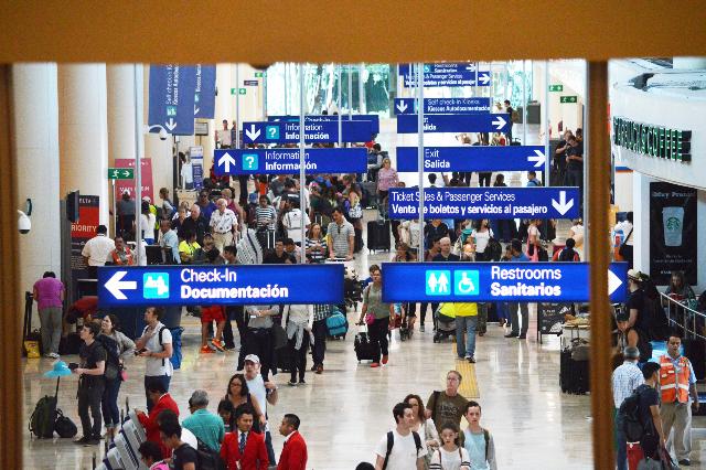 Aeropuerto Internacional de Cancún. FOTO: Cuartoscuro.