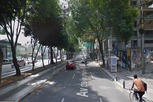 Reporte vial CDMX: Avenida Insurgentes sur. Foto: Google Maps