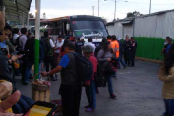 Tiroteo en paradero de Metro Indios Verdes deja un muerto: VIDEO