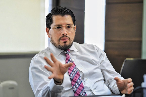 CARLOS MARTÍNEZ VELÁZQUEZ DIRECTOR GENERAL DEL INFONAVIT. FOTO: VÍCTOR GAHBLER