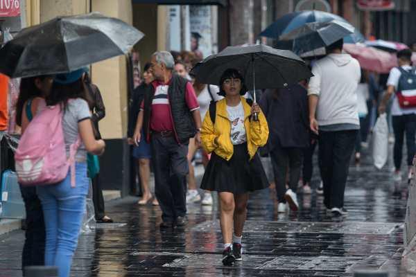 Activan Alerta Amarilla en 10 alcaldías por posible lluvia con caída de granizo