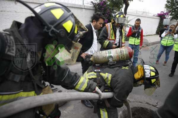 Explota toma clandestina de Pemex en Iztacalco y deja tres heridos