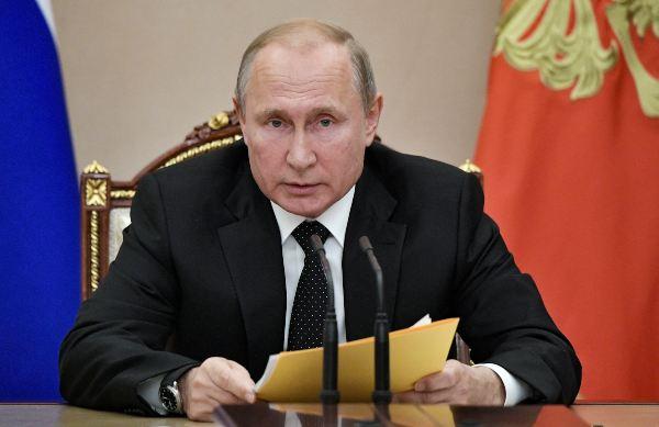 RECLAMO. Putin denunció que EU lanzó un misil tras la retirada del tratado INF. Foto: AP