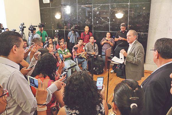 ANUNCIO. El gobernador de San Luis Potosí explicó la estrategia para la sierra. Foto: Especial.