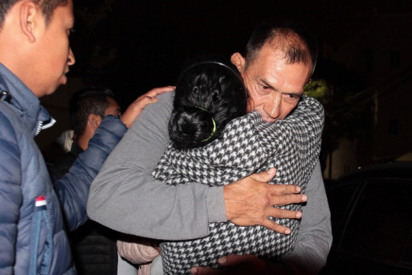 Tras 17 años en prisión y sin sentencia salieron de la cárcel. Foto: Notimex