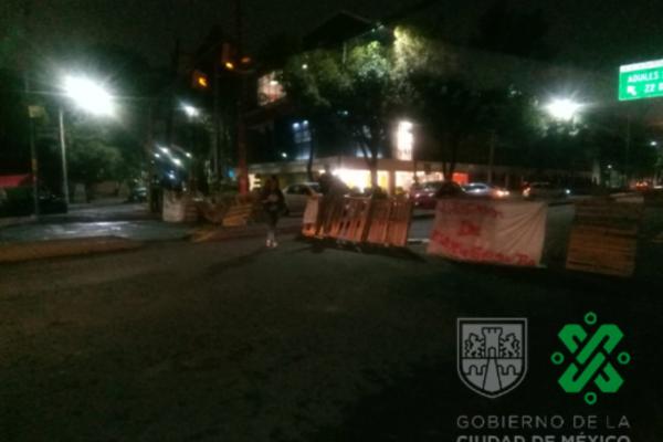 Reporte vial CDMX: cierran nuevamente Antigua Calzada de Guadalupe, serias afectaciones