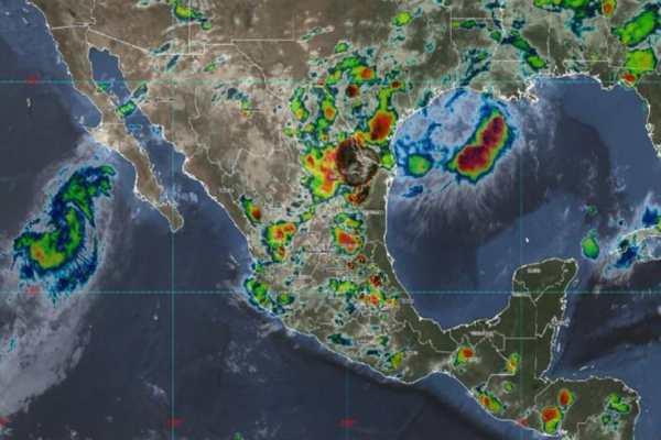 Ivo provocará lluvias en cinco estados; prevén se convierta en depresión tropical: MAPA