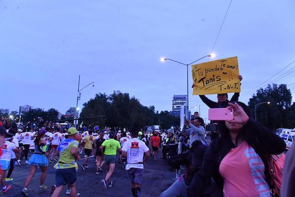 Los corredores partieron de Ciudad Universitaria. Foto: Pablo Solís