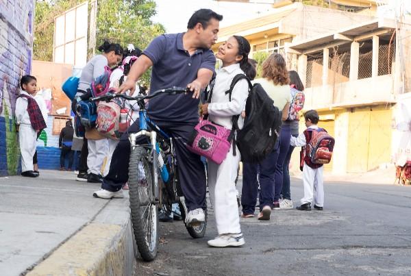 Miles de niños y jóvenes volverán a clases este lunes tras periodo vacacional. FOTO: GRACIELA LÓPEZ /CUARTOSCURO.COM