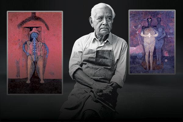 45 obras de Rufino se encuentran en el Cencropam. Fotoarte: Paul D. Perdomo