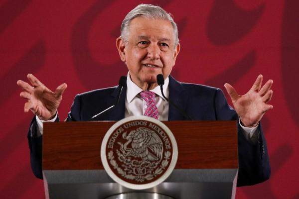 Andrés Manuel López Obrador, presidente de México, durante la conferencia mañanera.  FOTO: GALO CAÑAS /CUARTOSCURO.COM