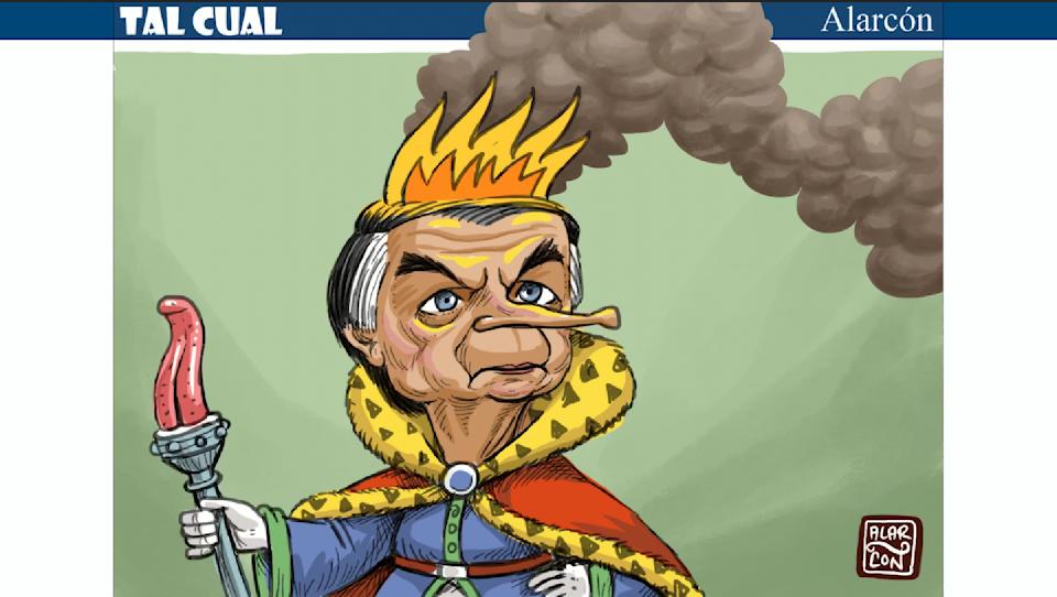 Tal Cual: Bolsonaro destrona a Trump