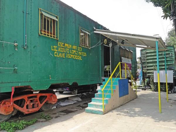 RECORRIDO. La escuela era itinerante en un principio y viajaba por todo el país. Ahora está fija en Naucalpan. Foto: Leticia Ríos