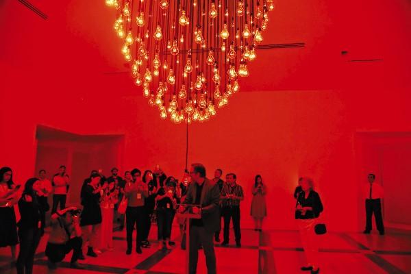 La muestra se exhibe en el Museo De Arte Contemporáneo de Monterrey (MARCO). Foto: Daniel Ojeda