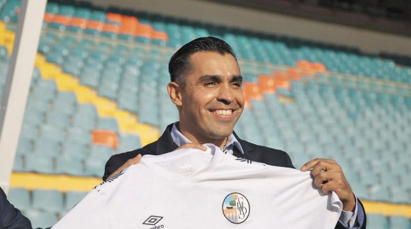 ILUSIONADO. Marco Antonio Rodríguez no tuvo el final que él hubiera soñado. Foto: SALAMANCA FC