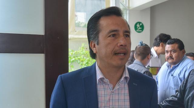El gobernador de Veracruz,  Cuitláhuac García. FOTO: CUARTOSCURO.COM