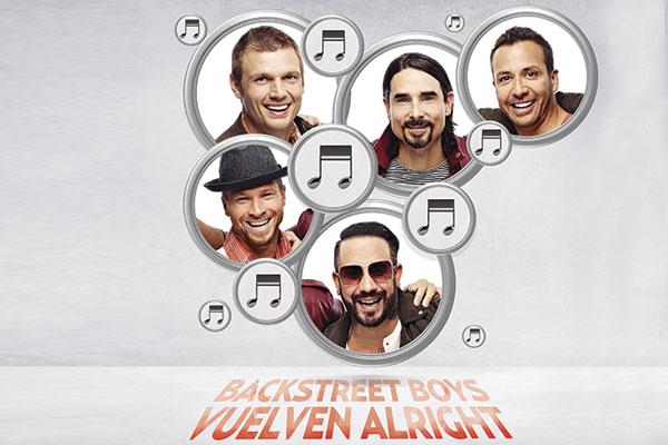 Backstreet Boys nació como banda en 1996.  FOTOARTE: ALLAN G. RAMÍREZ
