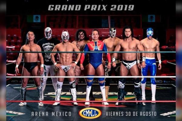 Resto del mundo listo para el Gran Prix CMLL