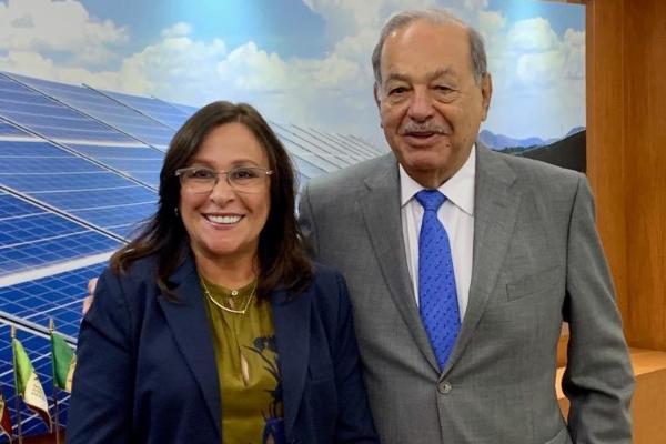 Carlos Slim Rocío Nahle