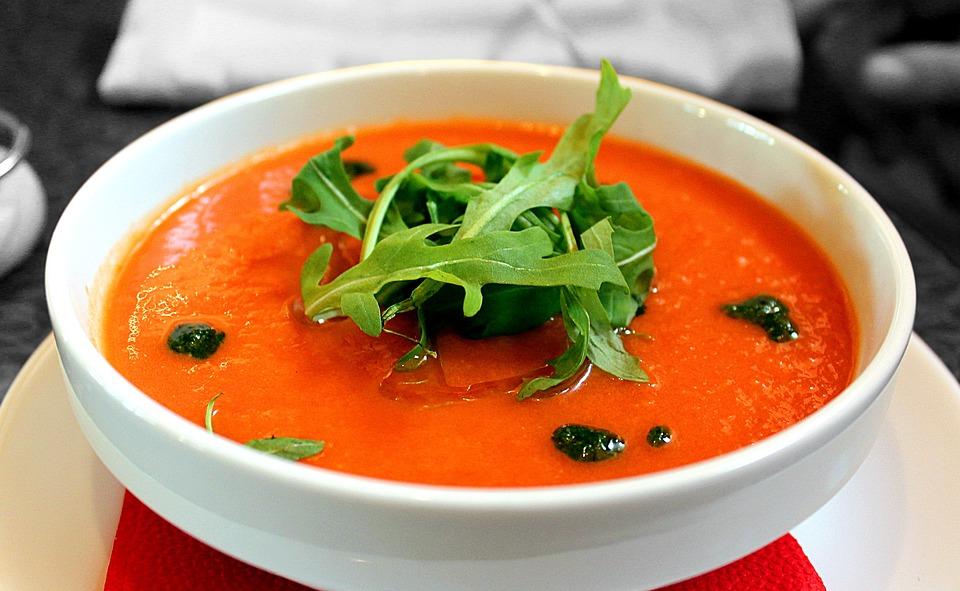 El gazpacho, sopa fría originaria de España y Portugal. Foto: Especial