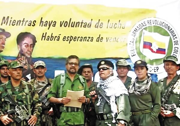 RETORNO. Iván Márquez anunció, a través de un video, junto con otros líderes guerrilleros, que retomarán las armas. Foto: Reuters