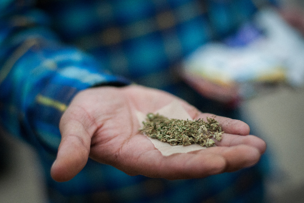 Marcha Marihuana clínica de salud