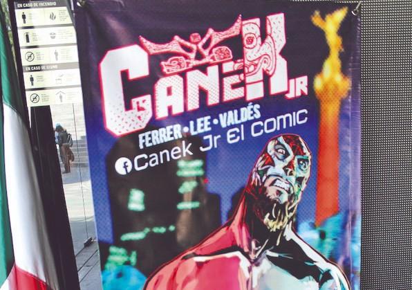 HÉROE. Canek Jr. promete interesar a los aficionados. Foto: Especial