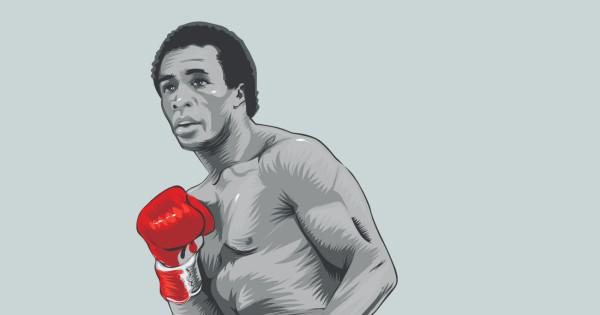SUGAR RAY LEONARD. Miembro del Salón Internacional de la Fama del Boxeo de Canastota, Nueva York (1997). Ilustración: Allan G. Ramírez