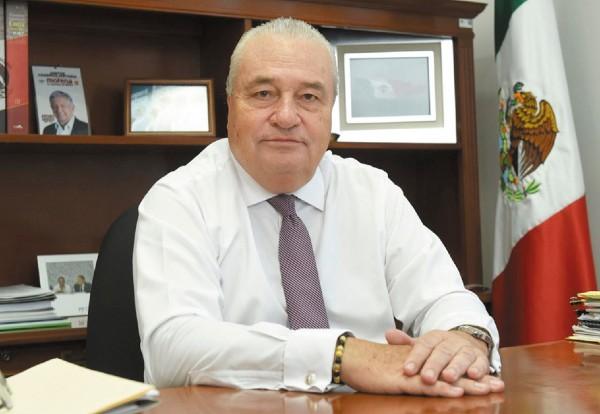 Acciones. José Manuel Sanz destacó la labor del gobernador Cuahutémoc Blanco. Foto: Especial