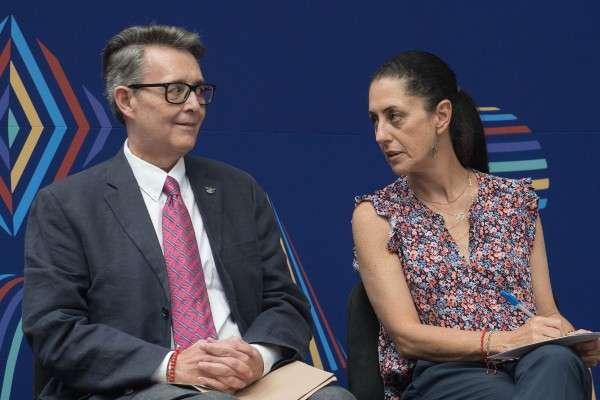 El secretario de cultura, José Alfonso Suárez del Real, señaló que todos estos eventos forman parte de la cartelera. Foto: Cuartoscuro.