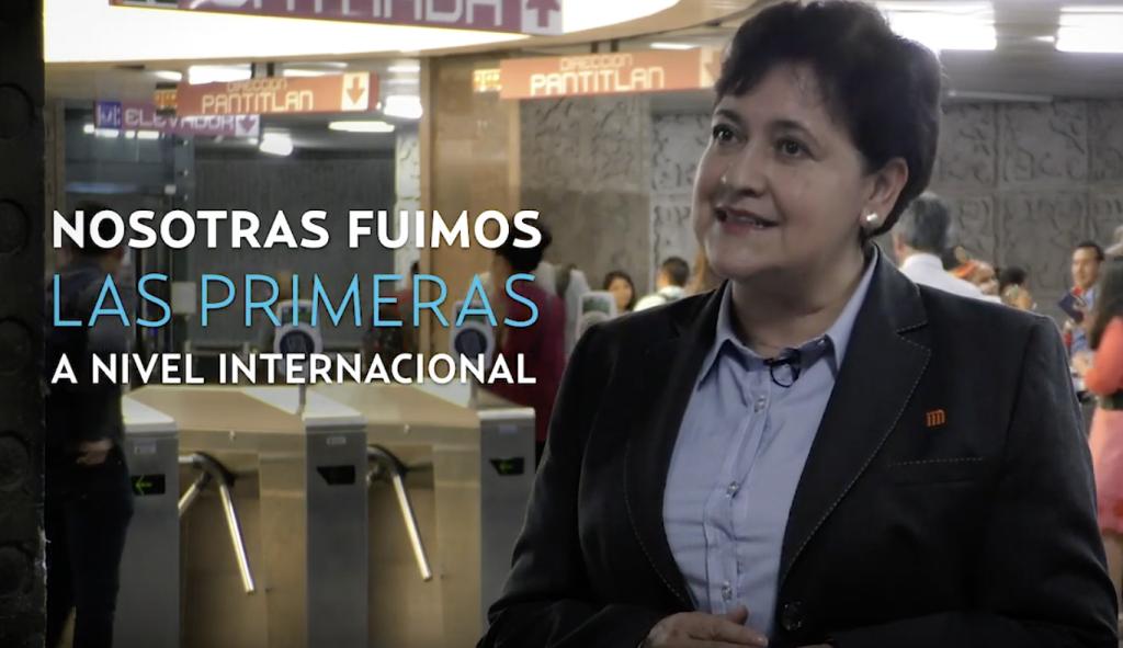 Mexicanas pioneras en el metro