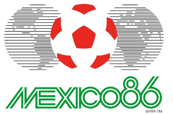 mejor logo de los mundiales méxico 1986