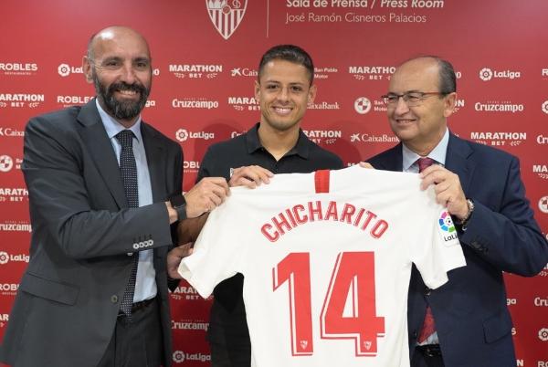Chicharito_Sevilla_España