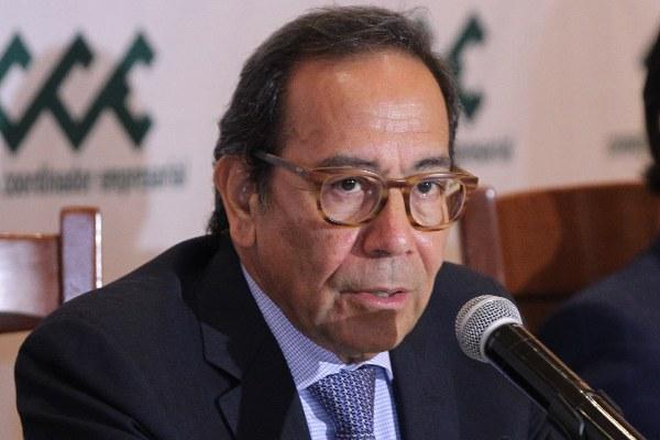 FOTO:CUARTOSCURO Carlos Salazar, presidente del Consejo Coordinador Empresarial (CCE)