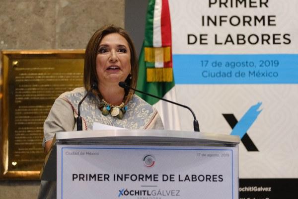 FOTO: GRACIELA LÓPEZ / CUARTOSCURO.COM  Xóchitl Gálvez , senadora del PAN