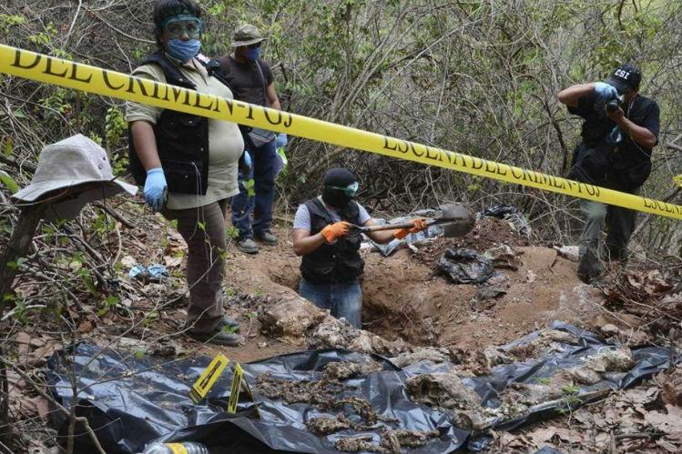 fosas clandestinas Lucía de los Ángeles Díaz Henao Adriana Delgado